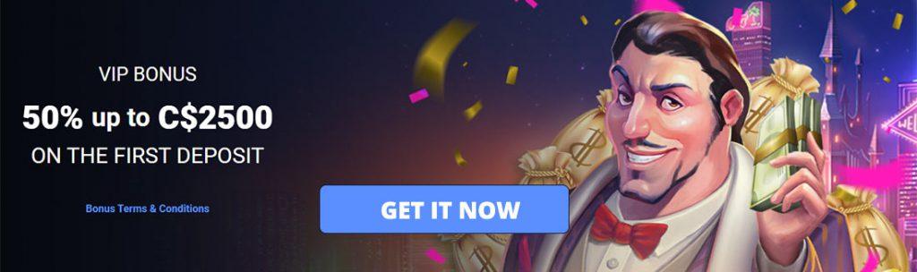 Grab this fantastic welcome bonus if you dare.