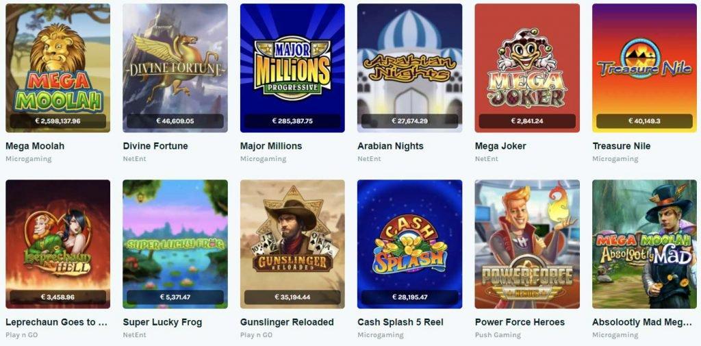 Lucky Days jackpot games