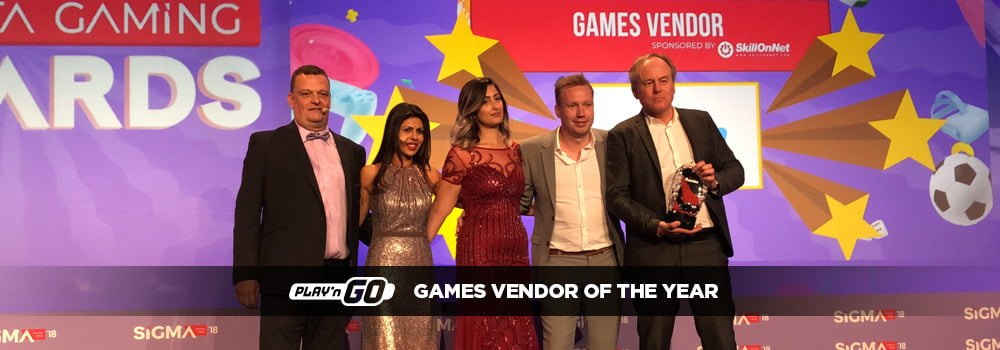 Multiple award winning software developer Play 'n GO