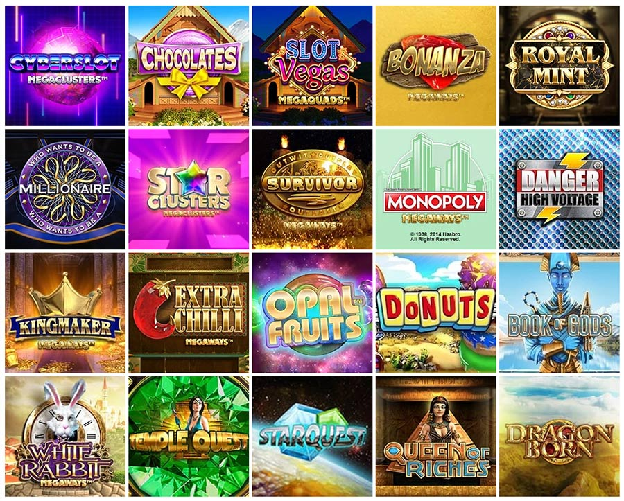 Most popular video slots by Big Time Gaming