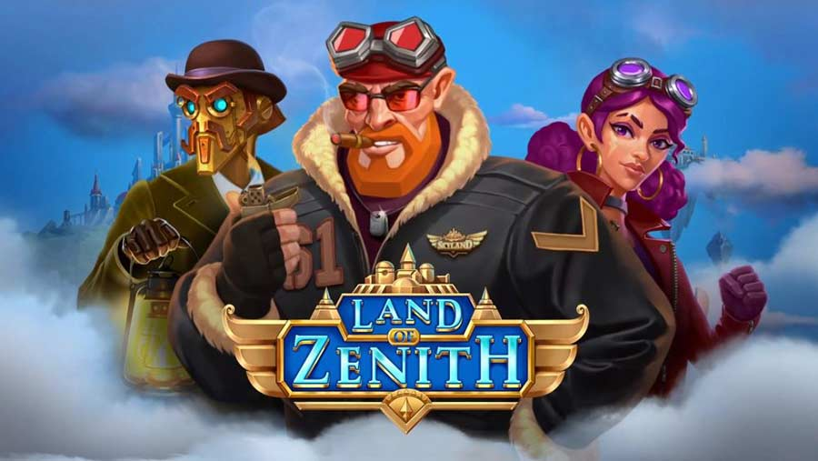 Push Gaming slot named Land of Zenith