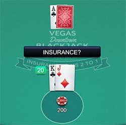 TIP for blackjack: Never choose Insurance