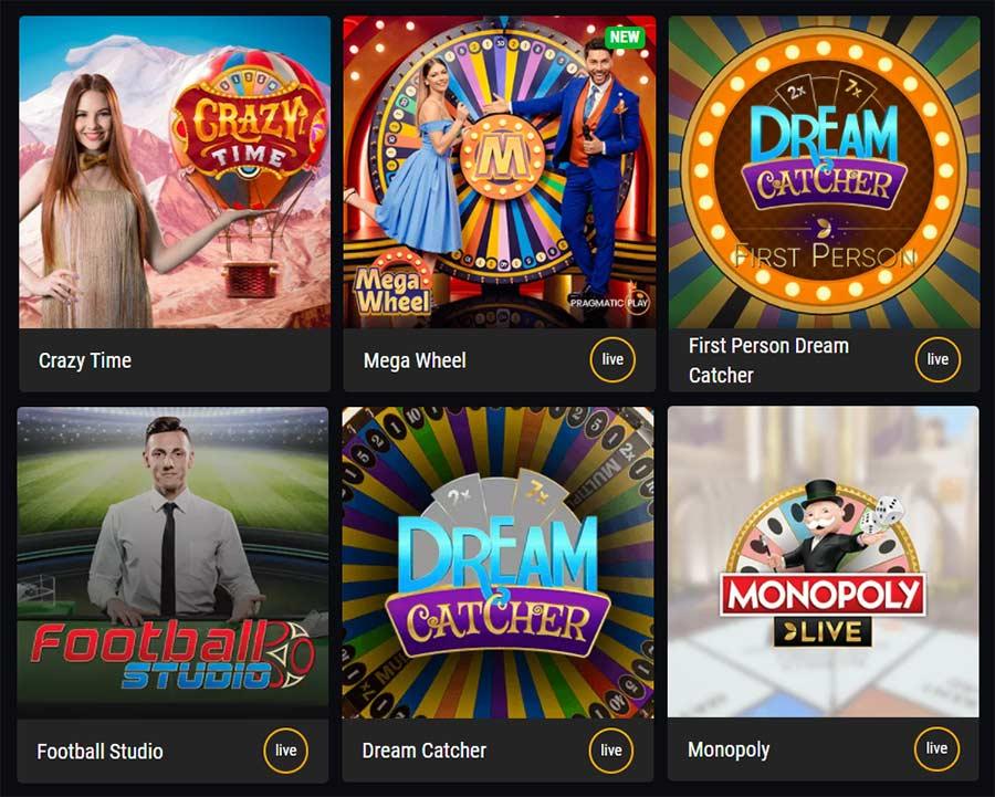 Innovadora acción de casino en vivo en los programas de juegos organizados
