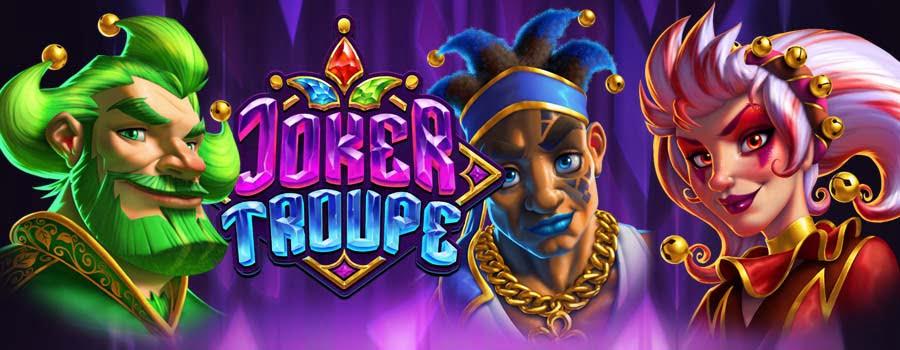 Joker Troups slot by Push Gaming