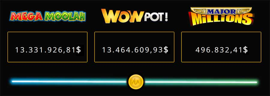 Jackpot games make Microgaming a very popular player in the casino industry