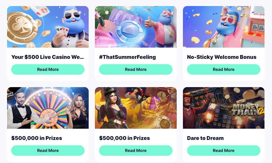 Promoções no CasinoFriday