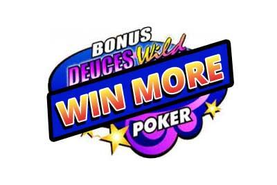 Ganhe mais com o vídeo pôquer